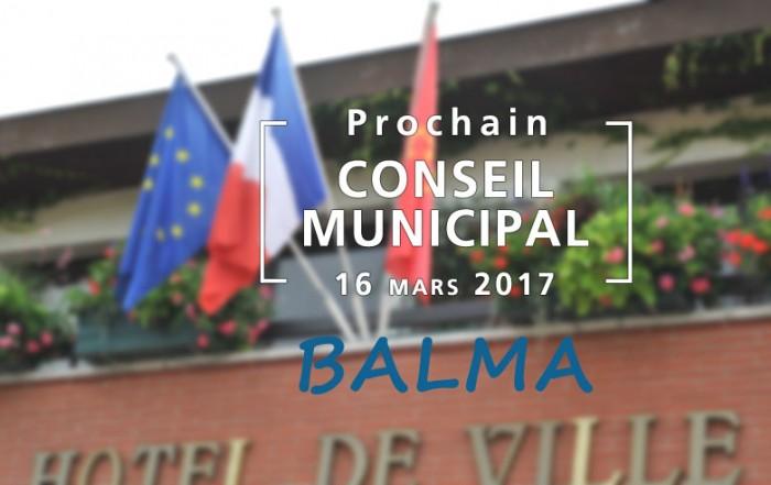 Conseil municipal du 16 mars 2017